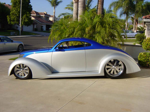 1937 Ford Oze Coupe Sold Jjrods