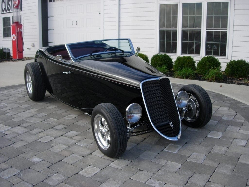 1933 Ford American Speed 33 Roadster Jjrods
